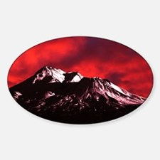 (4) Shasta Red Cloud Decal
