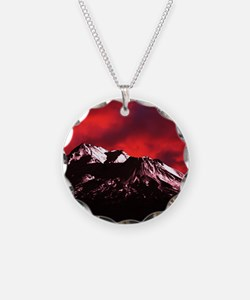 (4) Shasta Red Cloud Necklace
