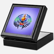 Heart Jewel  Hot Scarab-light Keepsake Box