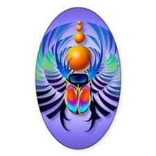Hot Scarab Purple PosterP Decal