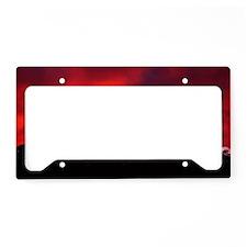 (6) Shasta Red Cloud License Plate Holder