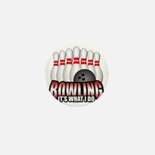 bowling Mini Button