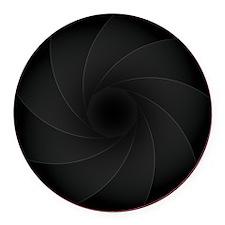 L-lens Round Car Magnet