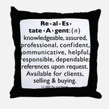 BRAG (Circular) Throw Pillow