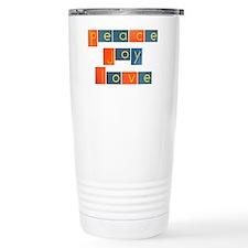 peacelovejoyflat Travel Mug