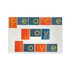 peacelovejoyflat Rectangle Magnet