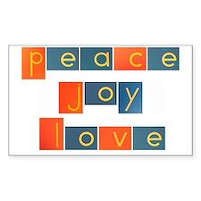 peacelovejoyflat Decal