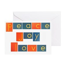 peacelovejoyflat Greeting Card