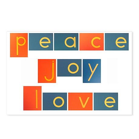 peacelovejoyflat Postcards (Package of 8)