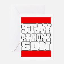 stayathome copy Greeting Card