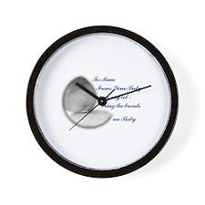 Memo to Mum Wall Clock