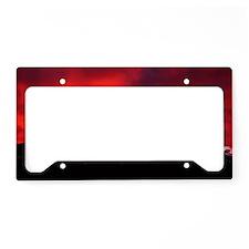 (10) Shasta Red Cloud License Plate Holder
