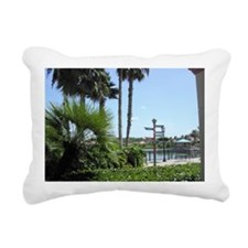 Finger Signpost Rectangular Canvas Pillow