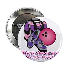 """BowlingShoes 2.25"""" Button"""