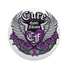 Cure CF Round Ornament