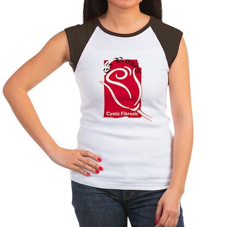 Rose Women's Cap Sleeve T-Shirt