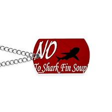 no-shark-fin-soup-pcard2 Dog Tags