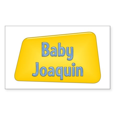 Baby Joaquin Rectangle Sticker