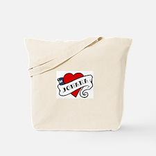 Johana tattoo Tote Bag