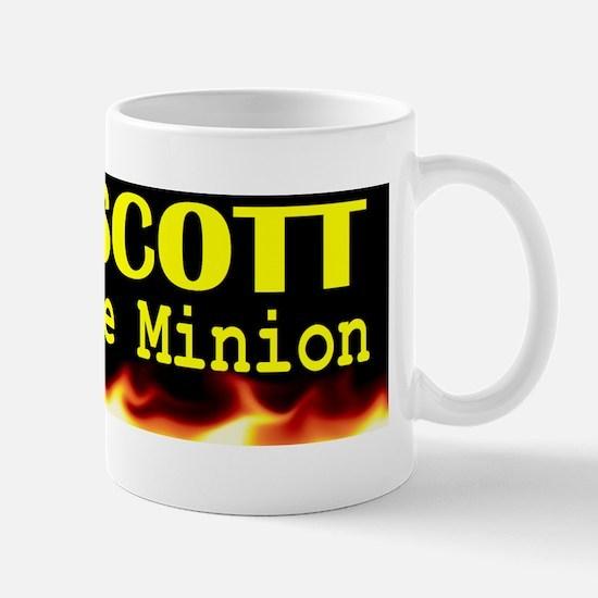 Fire Scott Corporate Minion bumper stic Mug