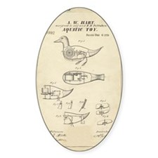 Toy Duck Patent Decal