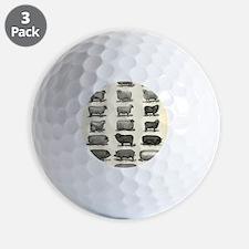 farm animals Golf Ball