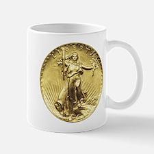 Liberty Gold Coin Mugs