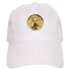 Liberty Gold Coin Baseball Baseball Cap