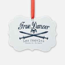 true dancer los angeles centered Ornament