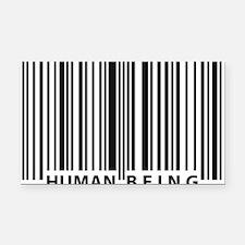barcode Rectangle Car Magnet