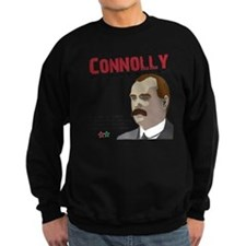 James Connolly quote on White Sweatshirt