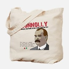 James Connolly quote on White Tote Bag