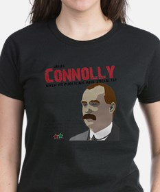 James Connolly quote on White Tee