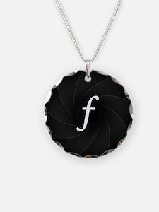 L-lens-f Necklace