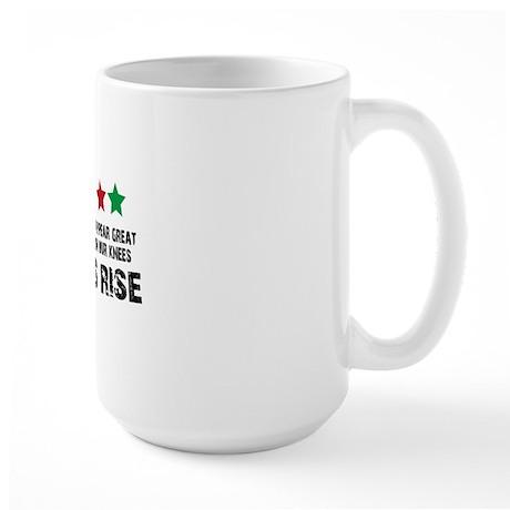 Jim Larkin quote black Large Mug