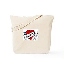 Sonia tattoo Tote Bag