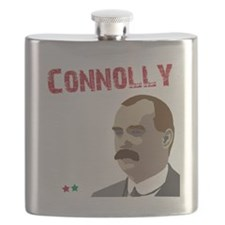 James Connolly quote on black Flask