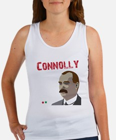 James Connolly quote on black Women's Tank Top