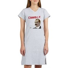 James Connolly quote on black Women's Nightshirt