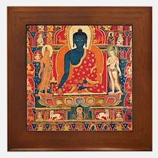 buddhablue Framed Tile