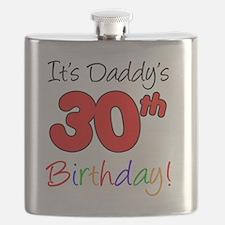 Its Daddys 30th Birthday Flask