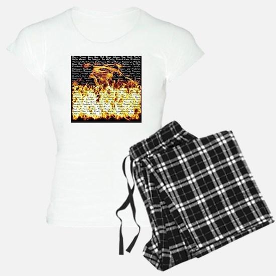 bj - fire Pajamas