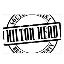 Hilton Head Title W Postcards (Package of 8)