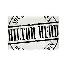 Hilton Head Title W Rectangle Magnet