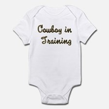 Cowboy in Training Infant Bodysuit
