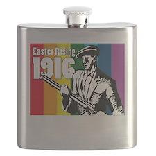 1916 Easter Rising 10x10 dark Flask