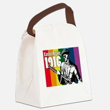 1916 Easter Rising 10x10 dark Canvas Lunch Bag