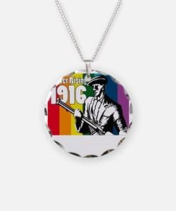 1916 Easter Rising 10x10 dar Necklace