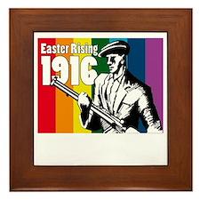 1916 Easter Rising 10x10 dark Framed Tile