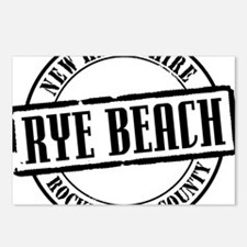 Rye Beach Title W Postcards (Package of 8)
